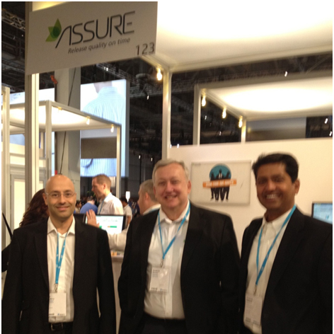 The Assure team with Prashant Satoskar