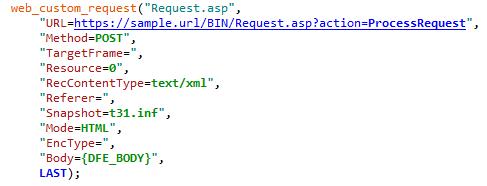 What is LoadRunner's DFE Part 1 (XML)
